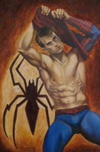 Spiderman Undressed!