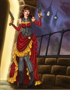 Steampunk Little Red Riding Hood 6