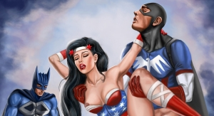 Erotic Art: A New Pin-up, Oil Paintings and Metal Prints
