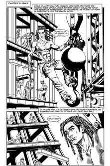 Gothic Geisha #1 Comic pg 16 by Sandra Chang-Adair