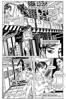 Gothic Geisha #1 Comic pg 9 by Sandra Chang-Adair