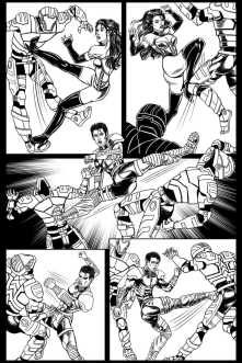 Gothic Geisha #3 Comic pg 25 by Sandra Chang-Adair