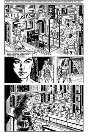 Gothic Geisha #2 Comic pg 6 by Sandra Chang-Adair